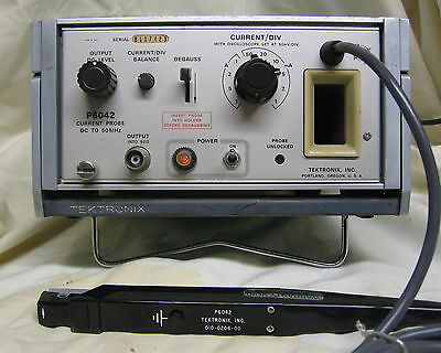 Tektronix Current Probe, Dc-50Mhz,  P6042, Instruction Manual