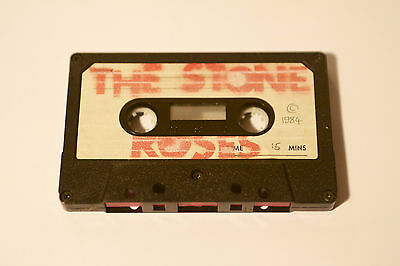 Incredibly Rare Stone Roses 1984 1st Demo Tape Handsprayed Logo- oasis interest