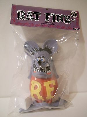 Dune Rat Fink Grey Ver. Soft Vinyl Collectible Figure Sofubi Mooneyes Ed Roth
