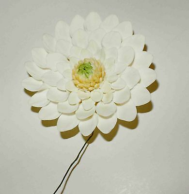 DAHLIA Sugar Flower, Medium, Cake Topper, Gum Sugarpaste, Wedding