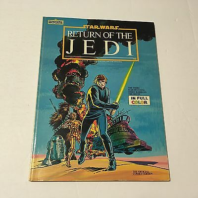 Star Wars Return Of The Jedi Official Comic Movie Adaptation Sc Book 1983