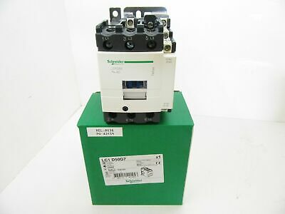LC1 D50G7 LC1D50G7 Schneider Electric Contactor 600Vac 50A 3 Pole (Factory New)