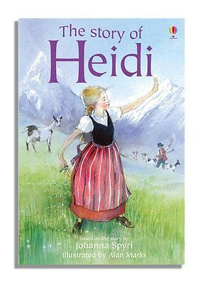Heidi New Hardcover Book *
