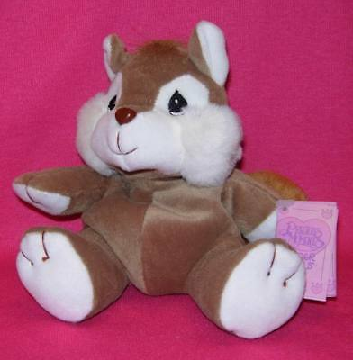 Precious Moments Tender Tails CHIPMUNK Plush animal New With Tags