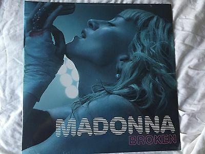 """Madonna """"broken"""" 12"""" Vinyl Ep Rare New Sealed Icon Legacy Members Only Gift"""