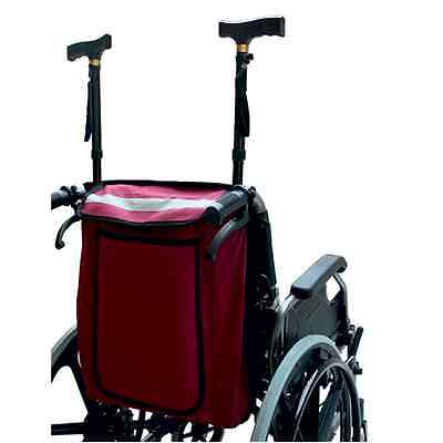 Wheelchair Bag -  Wheelchair Bag To Hold Crutches Or Walking Sticks And Shopping