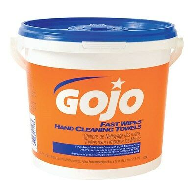 Gojo Fast Wipes Hand Cleaning Towels Pail 130 Towels