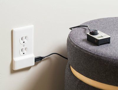 10 SnapPower USB Charger - Outlet Coverplate with Built in USB Charger, Duplex