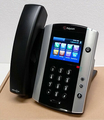 *NEW* Polycom VVX 501 12-Lines SIP VoIP Business Media Phone P/N: 2200-48500-025