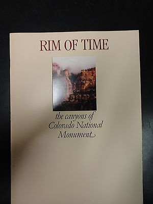 Rim of Time, the canyons of Colorado National Monument 1981 32 pages
