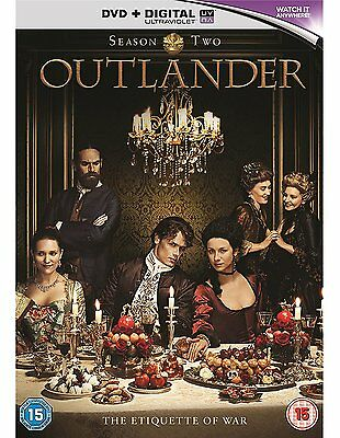 Outlander: Complete Season 2  [Dvd + Uv] New & Sealed