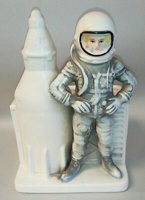 Rare 1963 INARCO Mercury Astronaut with Mercury Rocket Planter