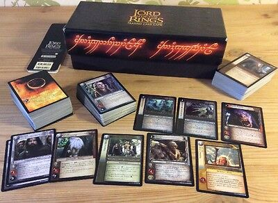 LORD OF THE RINGS TCG / CCG Game: BULK BUNDLE Rare & Common