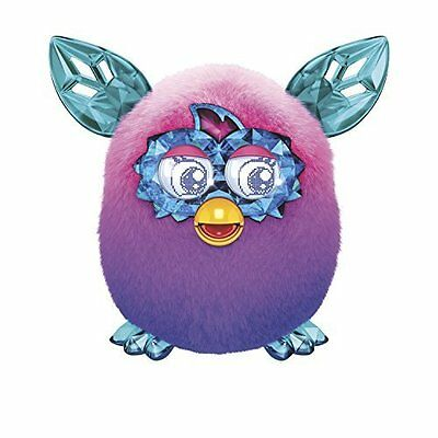 Furby Boom Serie Crystal Ombre peluche rosa