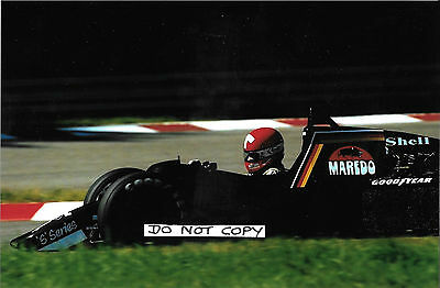 9x6 Photograph, Mike Thackwell , F1 Tyrrell 012 , German GP , Hockenheim 1984