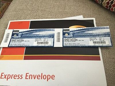 Robbie Williams Tickets Manchester Saturday 3Rd June Seated FACE VALUE!!