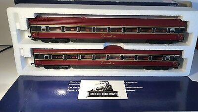 Lima 00 Gauge - Lt60002 - Irish Rail Mk3 Executive Coach Duo - New Super Rare