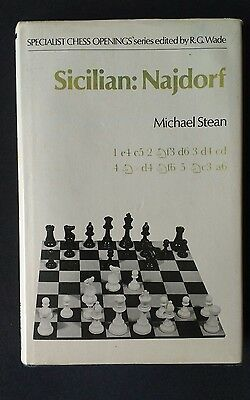 Sicilian: Nadjorf Michael Stean Chess openings Wade book