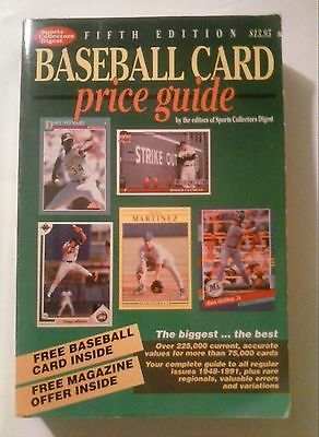 Sport Collector's Digest: Baseball Card Price Guide 5th edition