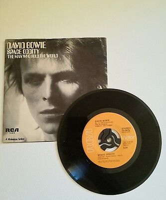 "David Bowie - Space Oddity/The Man Who Sold The World 7"" 1973 RCA"