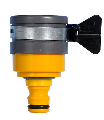 Hozelock 2177 Round Mixer Tap Connector 24mm LARGE fitting