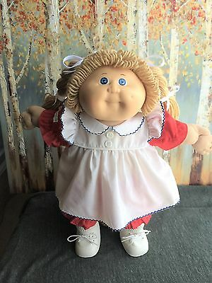 Vintage 1985 Coleco Cabbage Patch Kid with Full Outfit/Shoes