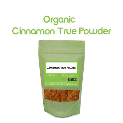 Australian Certified Organic Cinnamon True Powder Real Ceylon  Herbs Herbal
