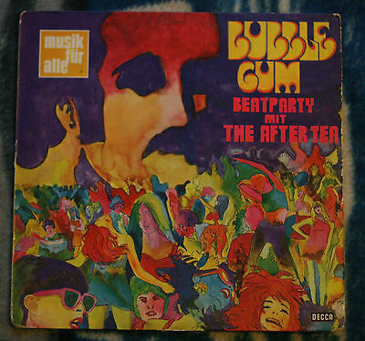 The After Tea Bubble Gum Beatparty 1972 German Lp Decca Nd 175