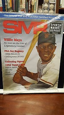 JUNE 2017 SMR PSA Sports Market Report Price Guide WILLIE MAYS SEALED toilet pap