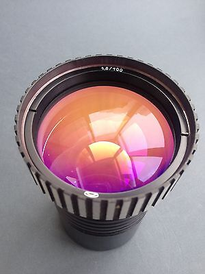 100mm 1,8 1.8/100 zebra Projection Lens USSR