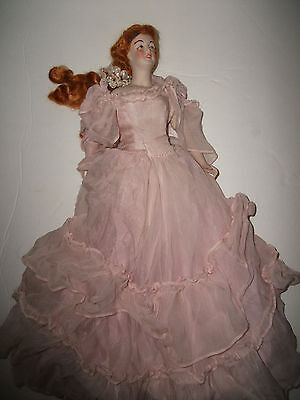 (last price reduction) ANTIQUE 1920'S-EARLY 30'S FRENCH BOUDOIR DOLL