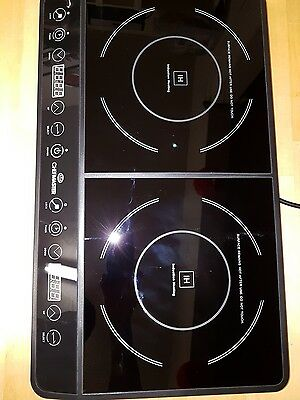 Chef Master electric induction cooker 2 hobs