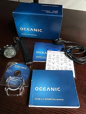 Oceanic Atom 2.0 PDC With Transmitter In Original Box. Excellent Condition!