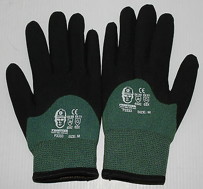 Freezer Work Gloves Fleece Lined Medium Size