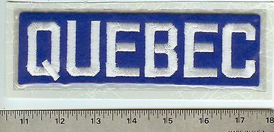 Quebec Bulldogs NHL hockey patch crest emblem 1912 Willabee & Ward Stanley Cup