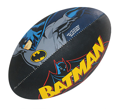 Steeden Superman OR Batman Rugby League Supporter Ball - Size 5