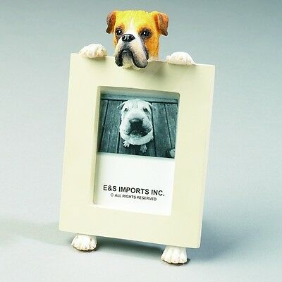 Boxer Fawn Uncropped Dog Picture Photo Frame