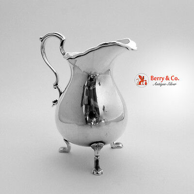 Tiffany Sterling Silver Creamer Colonial Revival 1890