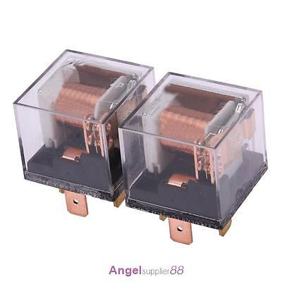 Waterproof 12/24V 100A 4Pin Automotive Relay SPDT Car Control Device Car Relays