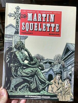 Martin Squelette - Les Enquetes du Commissaire Raffini, Volume 4 French language