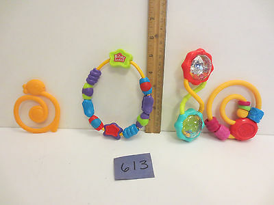 CHOOSE- Bright Starts Baby Toys Teething Rattles - Shipping Discount on 2+