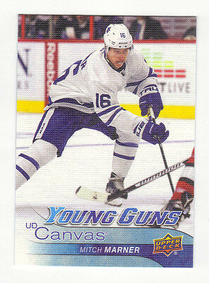 2016-17 Ud Series One Canvas Set With All Canvas Young Guns But 3