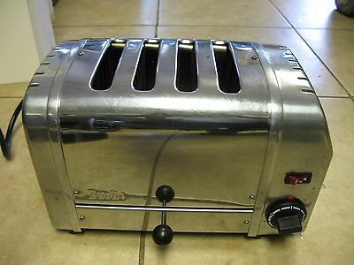 Dualit 4-Slice Manual Pop-Up Toaster. Chrome. 120 Volt