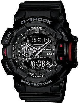 Casio G-Shock GA-400-1BDR Multi-Dimensional Analog Digital Watch