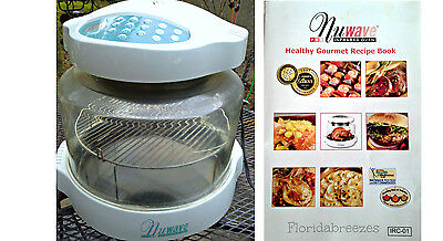 Nuwave Pro Infrared Oven Model 20301-20304 with Cookbook Keep kitchen COOL!