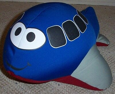 SWA Southwest Airlines Beanie AIRPLANE Foam Bead Plush Pillow Toy