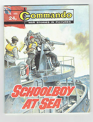 COMMANDO WAR STORIES IN PICTURES  5 BOOK LOT HTF  HG 9.0 VF/NM 24p
