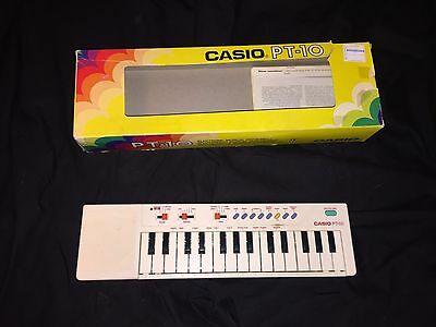 Vintage Casio PT-10 Electronic 29 Keys Keyboard 87 100 midi controller synth