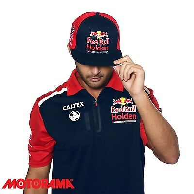 Official Red Bull Holden Racing Team Merchandise Team Flat Cap Adult RBHRT17.002