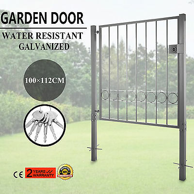 Garden Gate Courtyard Door Galvanized Flexibly usable Door Fence EXCELLENT